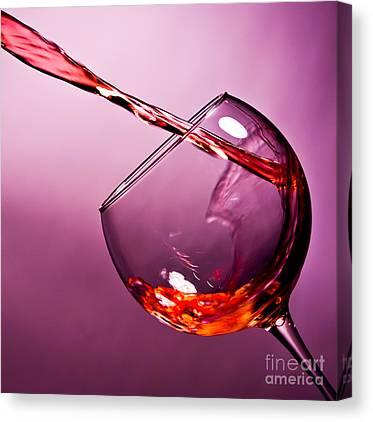 Pour Wine Canvas Prints Fine Art America