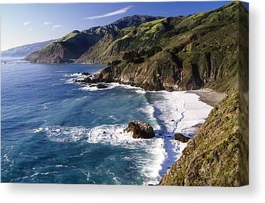 Pacific Ocean Canvas Prints