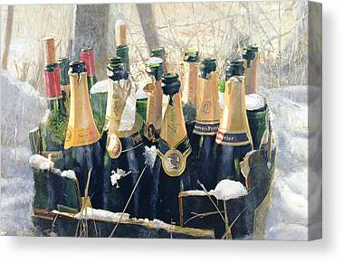 Champers Canvas Prints