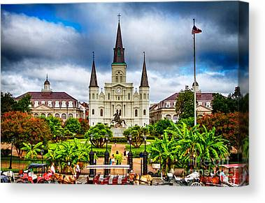 New Orleans Canvas Prints