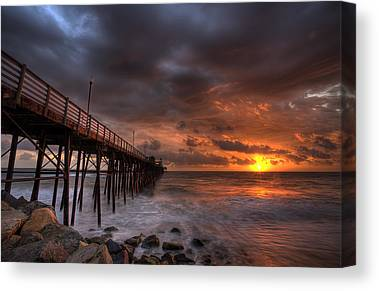 Boardwalk Canvas Prints