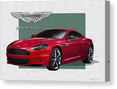 Aston Martin Canvas Prints