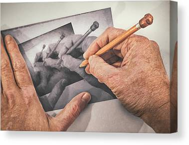 Hand Drawn Canvas Prints