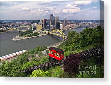 Inclined Plane Canvas Prints