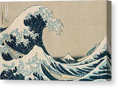Hokusai Canvas Prints