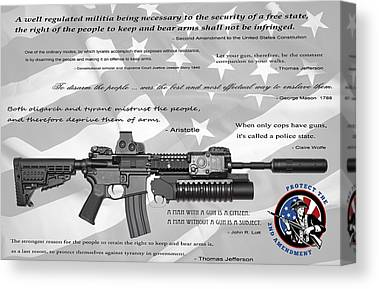 AR 15 Semi-Automatic Rifle Second Amendment Rights Guns Bear Arms Men/'s T-Shirt