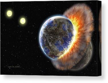 Exoplanet Canvas Prints