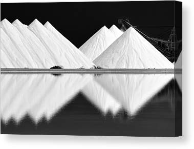 Salt Mine Canvas Prints
