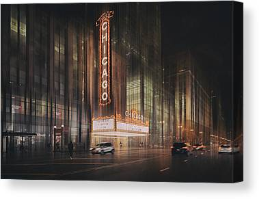 Live Theater Canvas Prints