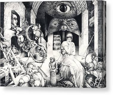 Vienna School Of Fantastic Realism Canvas Prints