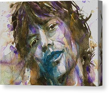 Mick Jagger Rolling Stones Canvas Prints