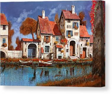 Villages Canvas Prints