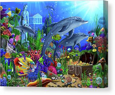 Designs Similar to Dolphins Undersea Domain