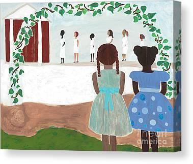 African American Artist Canvas Prints