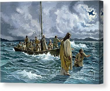 Fishing Boat Canvas Prints