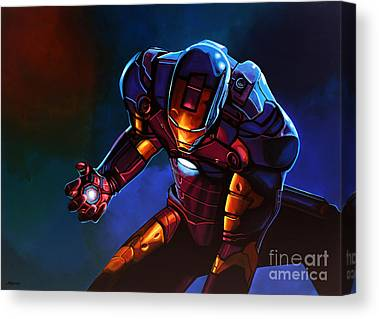 Iron Man Canvas Prints