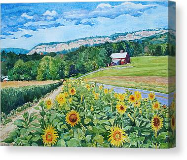 Mira Fink Landscapes Canvas Prints