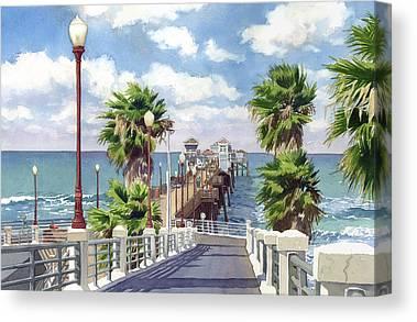 Pacific Canvas Prints