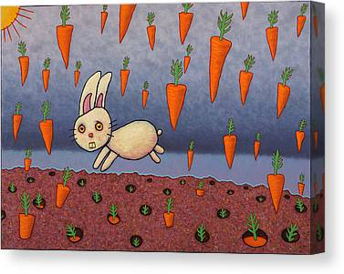 Carrots Canvas Prints