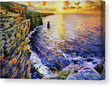 County Clare Canvas Prints