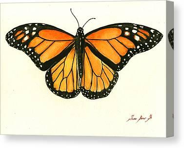 Monarch Butterflies Canvas Prints