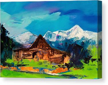 Mormon Canvas Prints