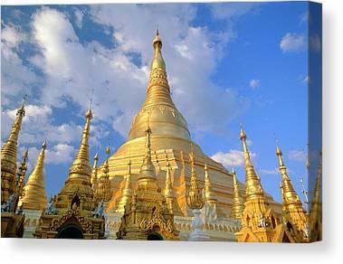 Stupa Canvas Prints
