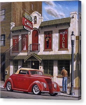Urban Scenes Paintings Canvas Prints