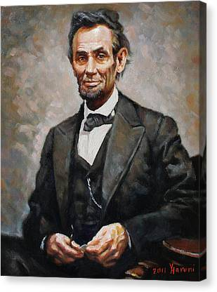 President Canvas Prints