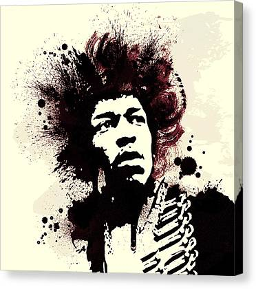 Voodoo Chile Canvas Prints