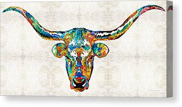 Usf Bulls Canvas Prints