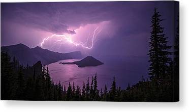 Crater Lake Canvas Prints