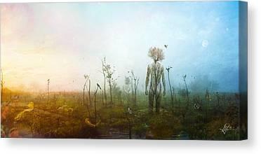 Roots Digital Art Canvas Prints