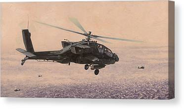 Ah-64 Canvas Prints