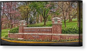 The University Of Tennessee Canvas Prints