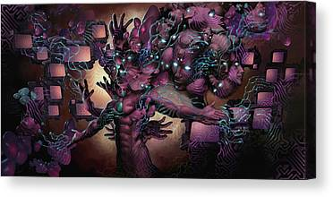 Collective Unconscious Canvas Prints