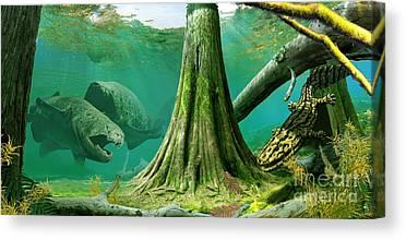 Ecosystem Canvas Prints