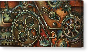 Mechanical Canvas Prints