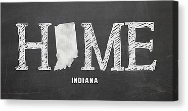 Evansville Mixed Media Canvas Prints