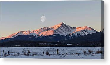 Mt. Massive Canvas Prints