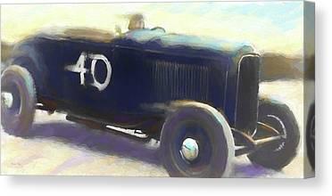 Speed Trials Canvas Prints