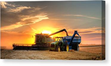 Harvesting Canvas Prints