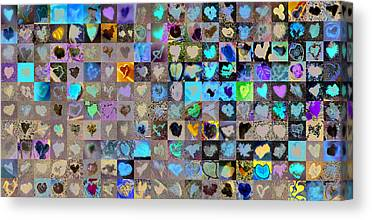 Heart Images Digital Art Canvas Prints