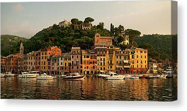 Portofino Italy Canvas Prints