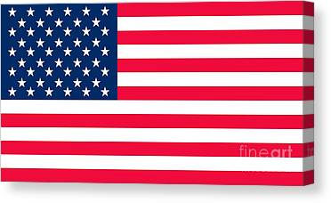 United States Of America Canvas Prints