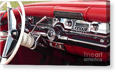 Fifties Buick Canvas Prints