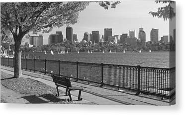 Charles River Canvas Prints