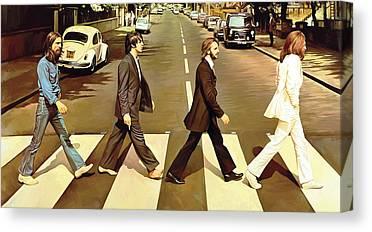 Abbey Road Canvas Prints