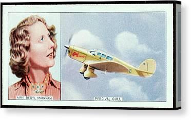 Beryl Markham Canvas Prints