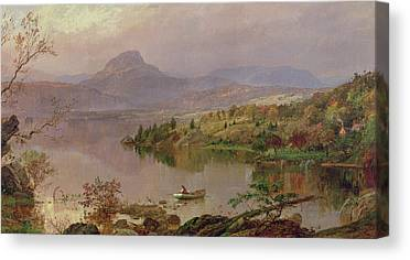 Sugarloaf From Wickham Lake Canvas Prints